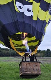 Horaire décollage montgolfière