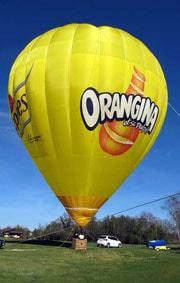 Marketing PUB montgolfière