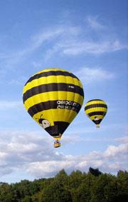 Vol de groupe en montgolfière