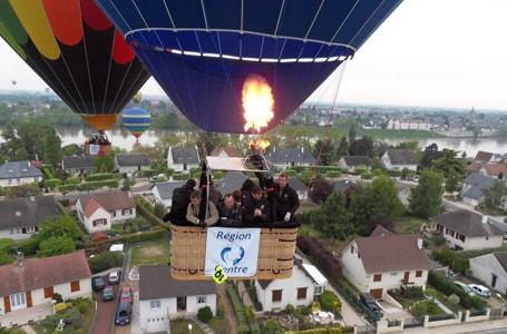 Le ciel de Touraine se remplit de montgolfières