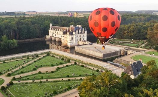 Billet Cadeau vol en montgolfière