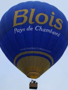 Blois Chambord Montgolfière