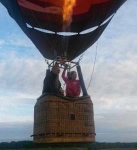Formation pilotage d'une montgolfiere