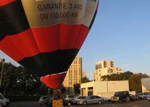 Vol montgolfière captif