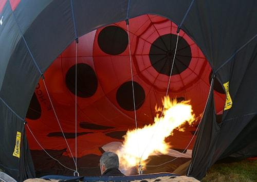 Envol montgolfiere Aerocom