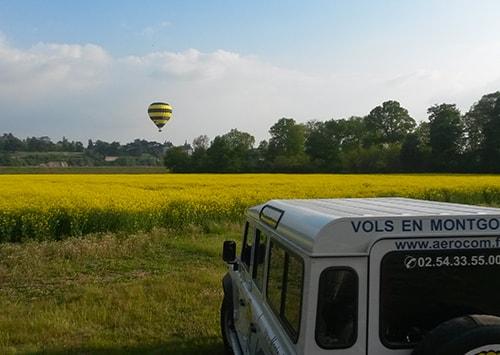 L'équipe Aérocom Montgolfière